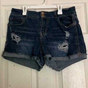 Rue21 Dark Wash Shorts